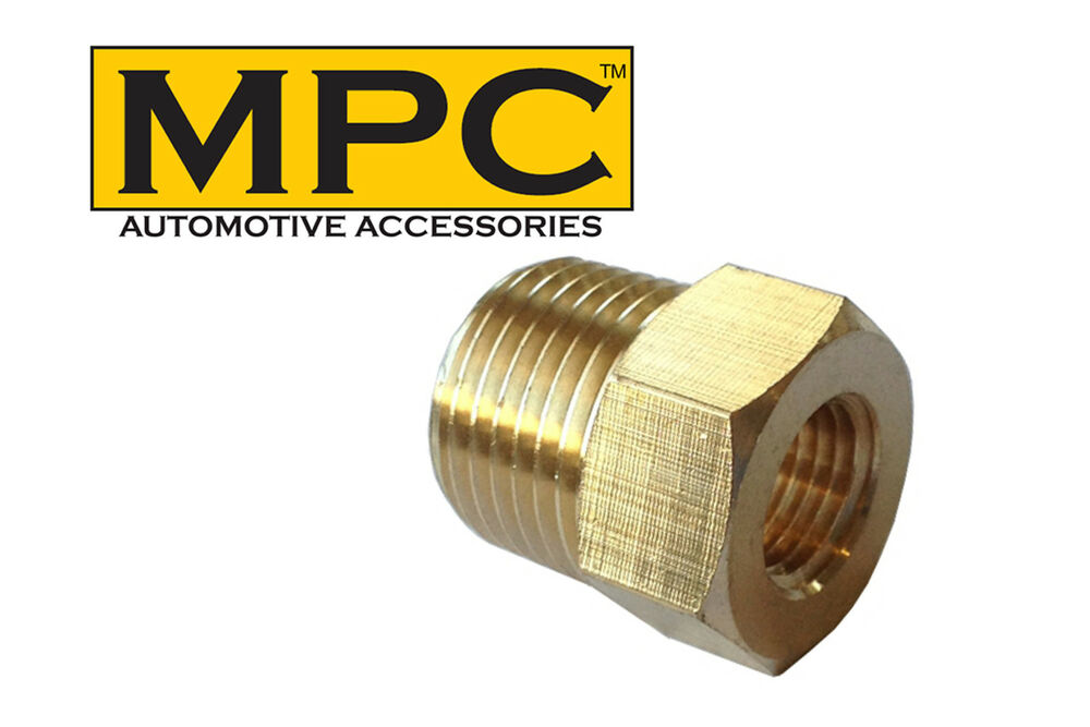 Brass hex reducer quot male npt to female ebay