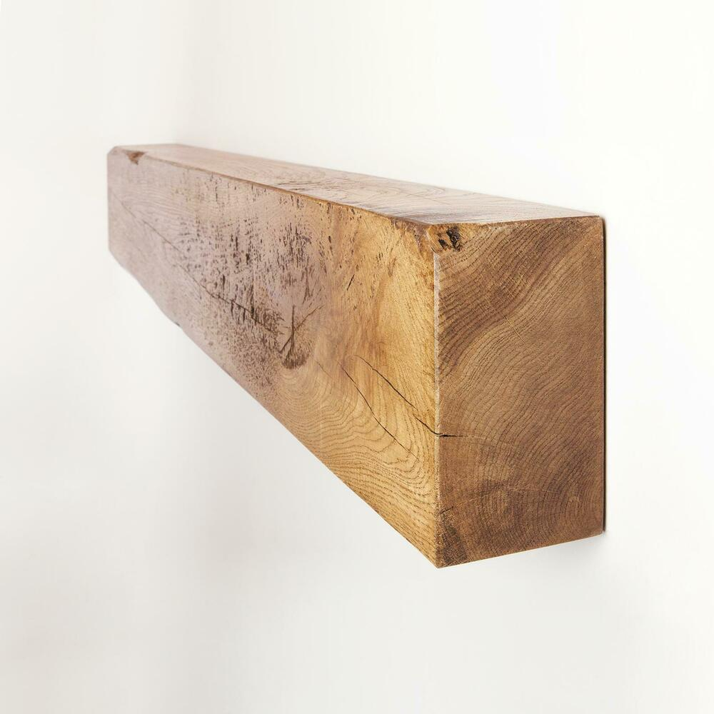 4x8 Rustic Fireplace Mantel Oak Beam by Funky Chunky ...