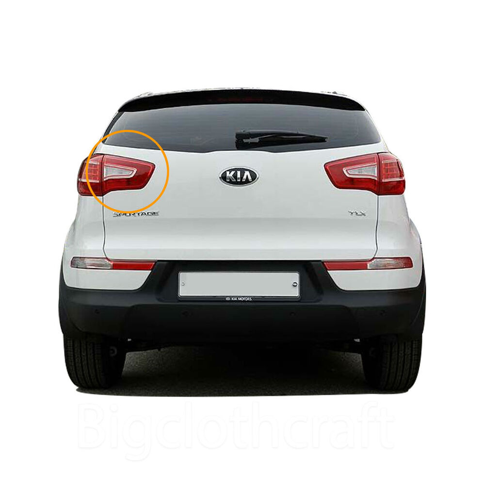 Part Shop Glow Tail Lights: New Genuine Part OEM Rear Trunk Tail Light Lamp LH For Kia