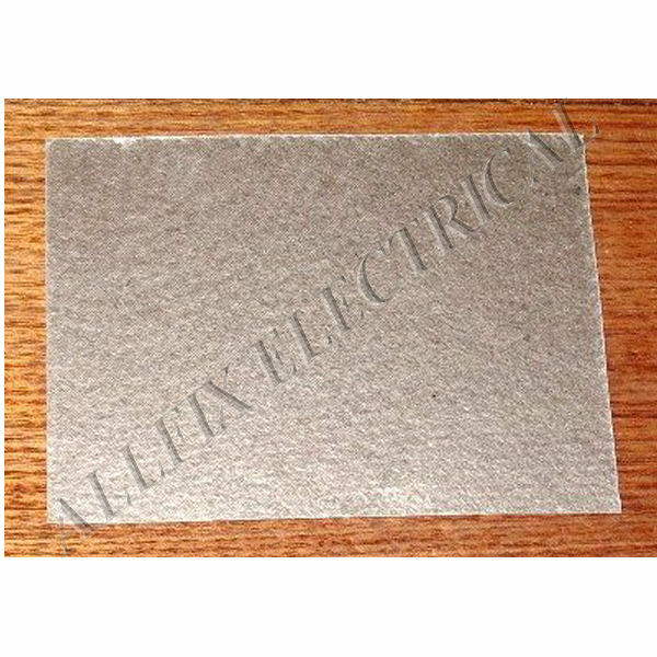 Mica waveguide cover material for microwave ovens 150mm x 112mm part
