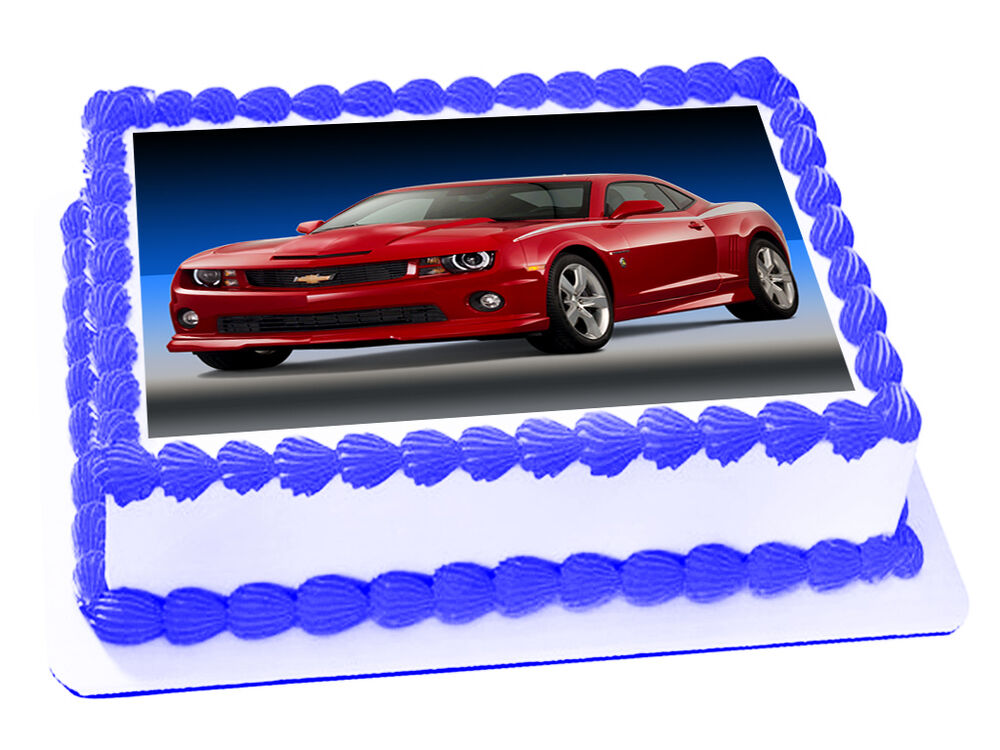 Edible Cake Decorations Cars : CAMARO CAR