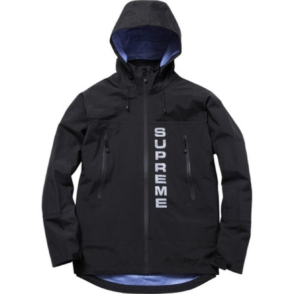 Supreme Competition Taped Seam Jacket Black M Box Logo
