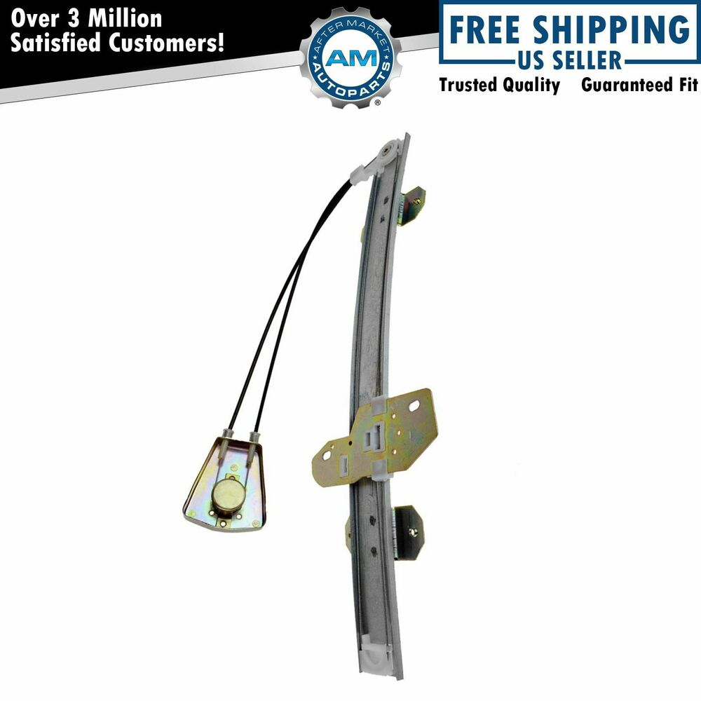 Window regulator manual front driver side left lh for 94 for 2001 honda accord window regulator replacement