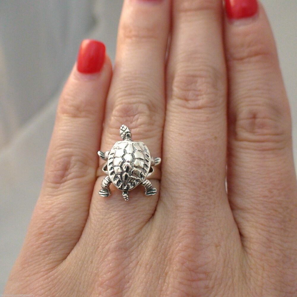 turtle ring 925 sterling silver turtle jewelry tortoise
