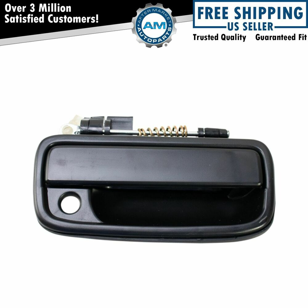 Outside Exterior Door Handle Black Rh Right For 95 04 Toyota Tacoma Pickup Truck Ebay