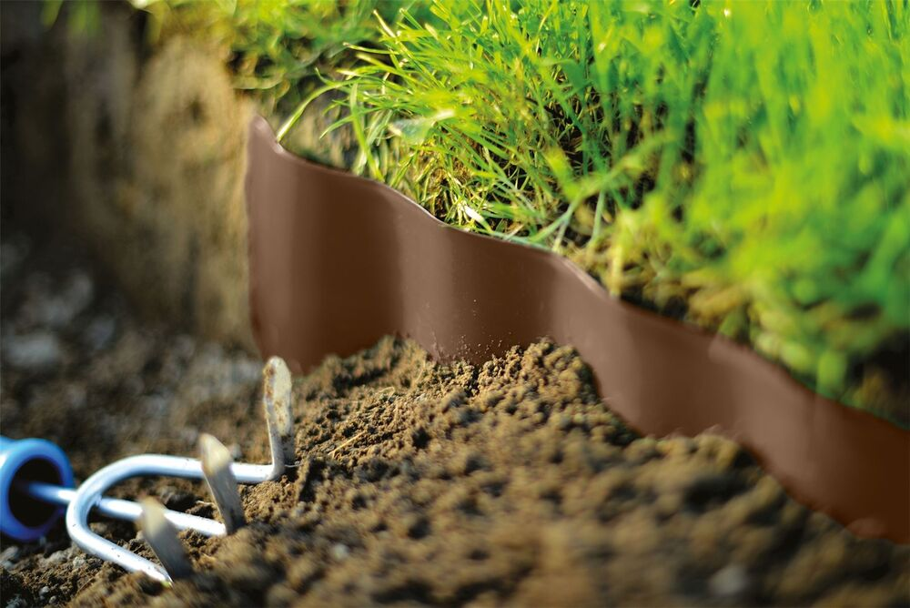 VERY STRONG GARDEN GRASS LAWN EDGE EDGING BORDER FENCE WALL DRIVEWAY ROLL PAT