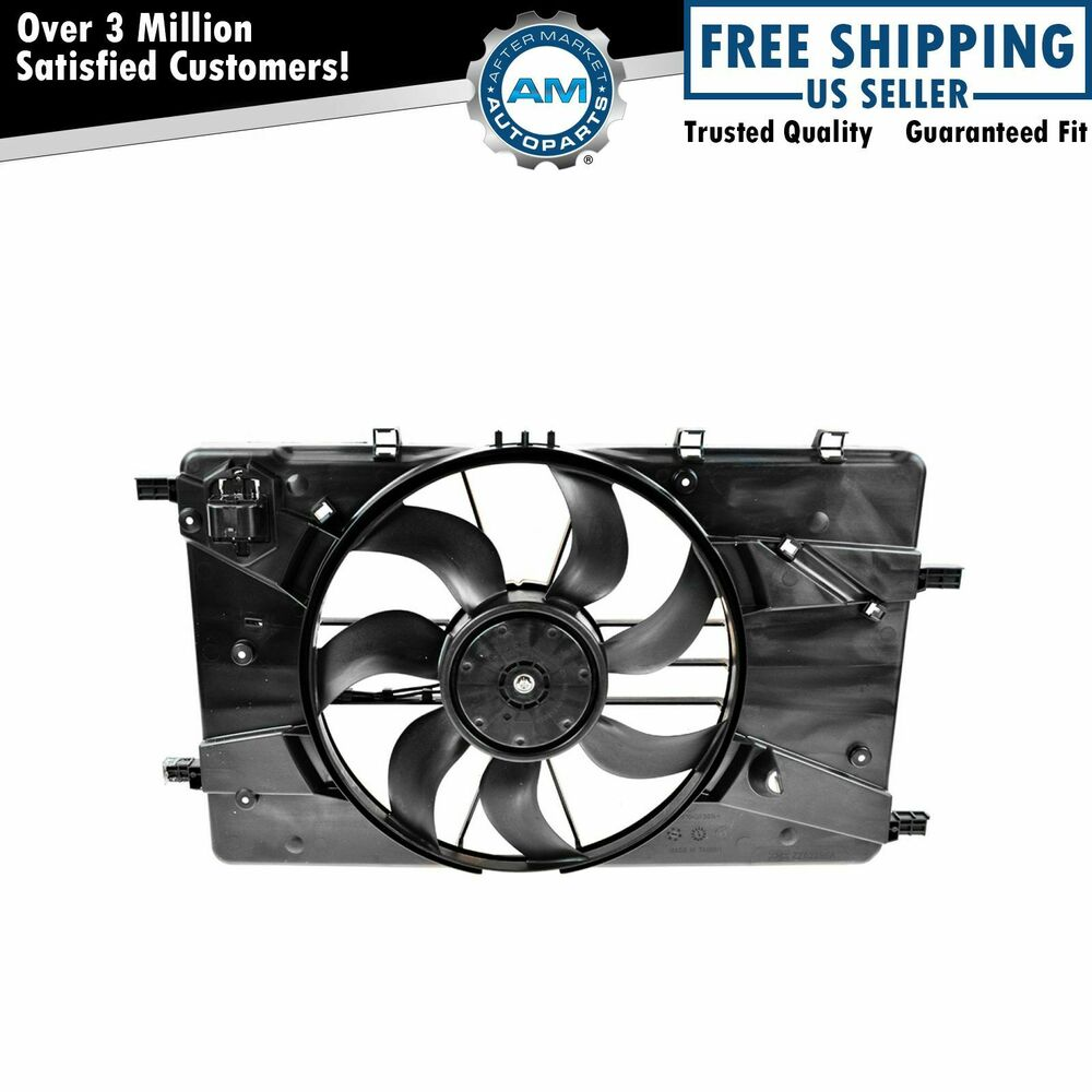 Radiator Cooling Fans : Radiator cooling fan assembly for chevy cruze buick verano