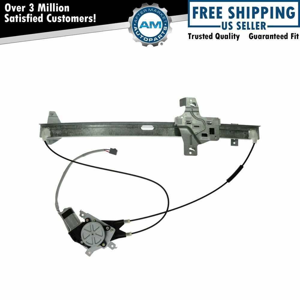 Power window regulator w motor front passenger right rf for 2002 ford explorer right rear window regulator