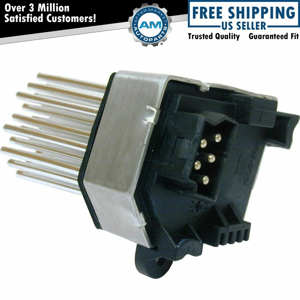 Heater Blower Motor Resistor Behr Type Replacement New For