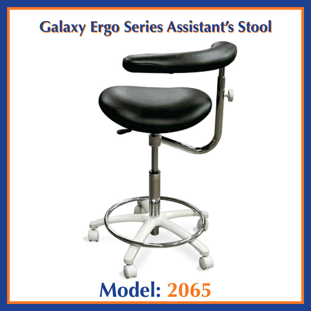 Galaxy 2065 Contoured Dental Assistant S Hygienist Seat