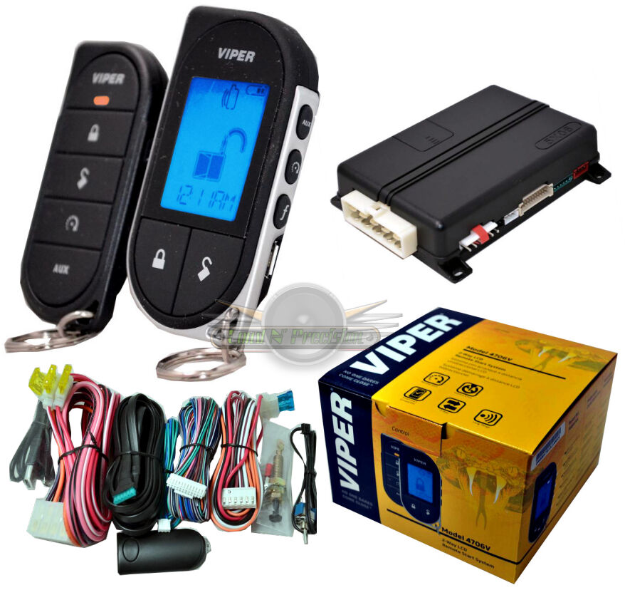 viper remote start car alarms security ebay
