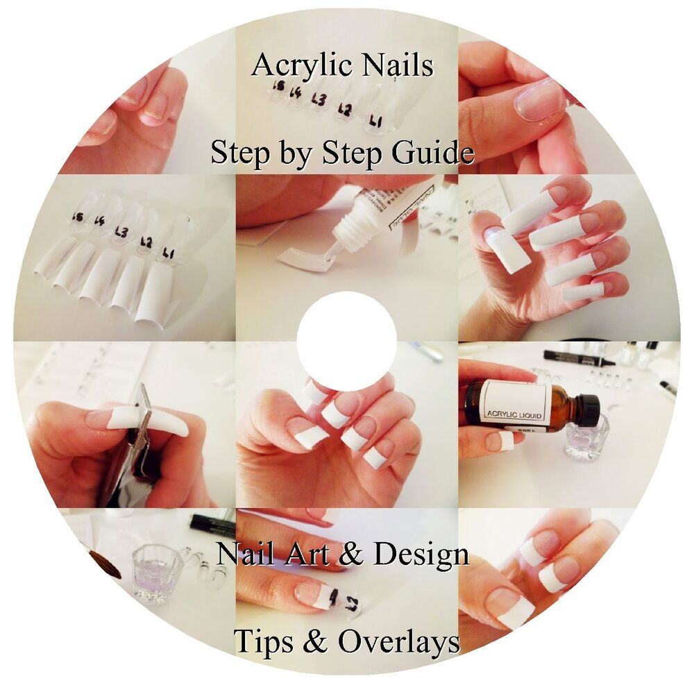 STEP BY STEP GUIDE TO ACRYLIC NAILS DVD