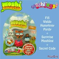 Moshi Monsters Moshlings Series 1 5 Figure Pack 11 - Purdy Waldo Fifi Humphrey