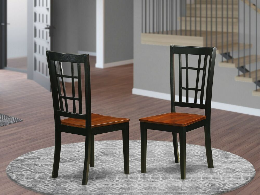 Dining Room Chairs Black And Cherry