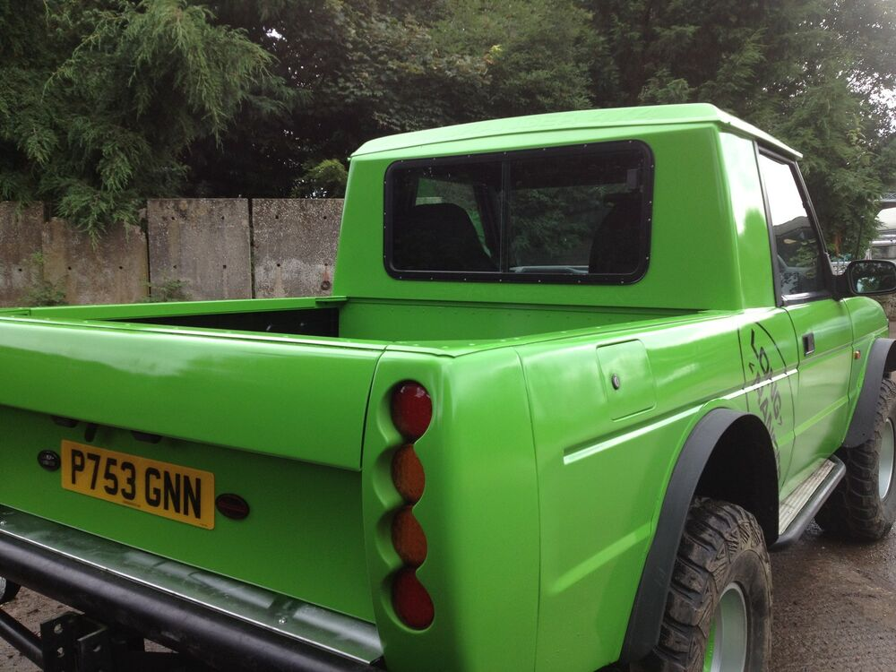Range Rover Clic Pickup Truck Fibergl Kit Project Land Price Ebay