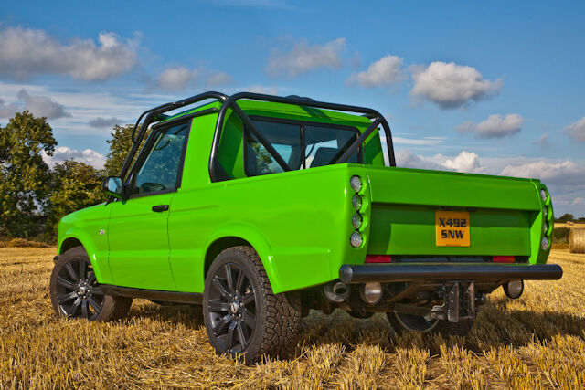 Land Rover Td5 Discovery 2 Pickup Truck Complete
