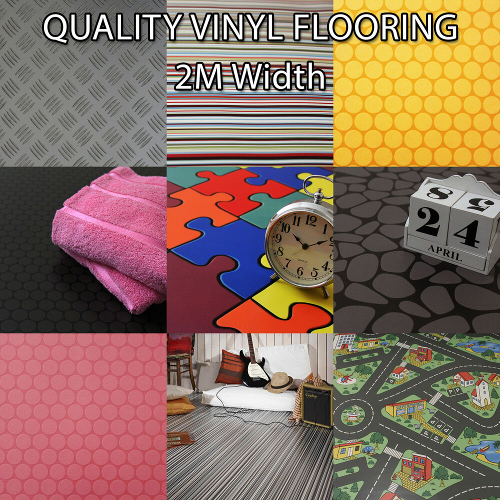 Details About Quality Flooring Vinyl Kids Playroom Lino Non Slip Bathroom Bedroom Anti 2m