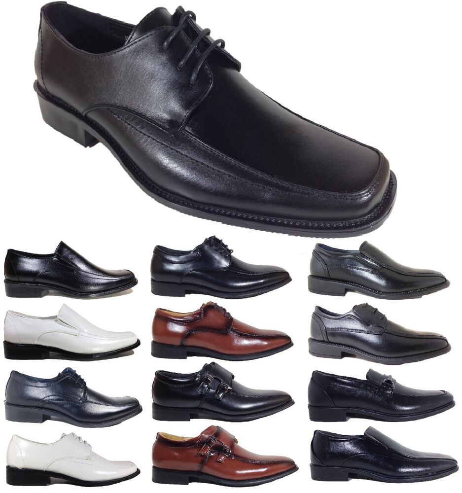 classic dress shoes wedding prom black white lace up