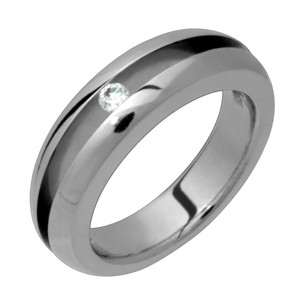 new mens titanium ring engagement ring wedding band with. Black Bedroom Furniture Sets. Home Design Ideas