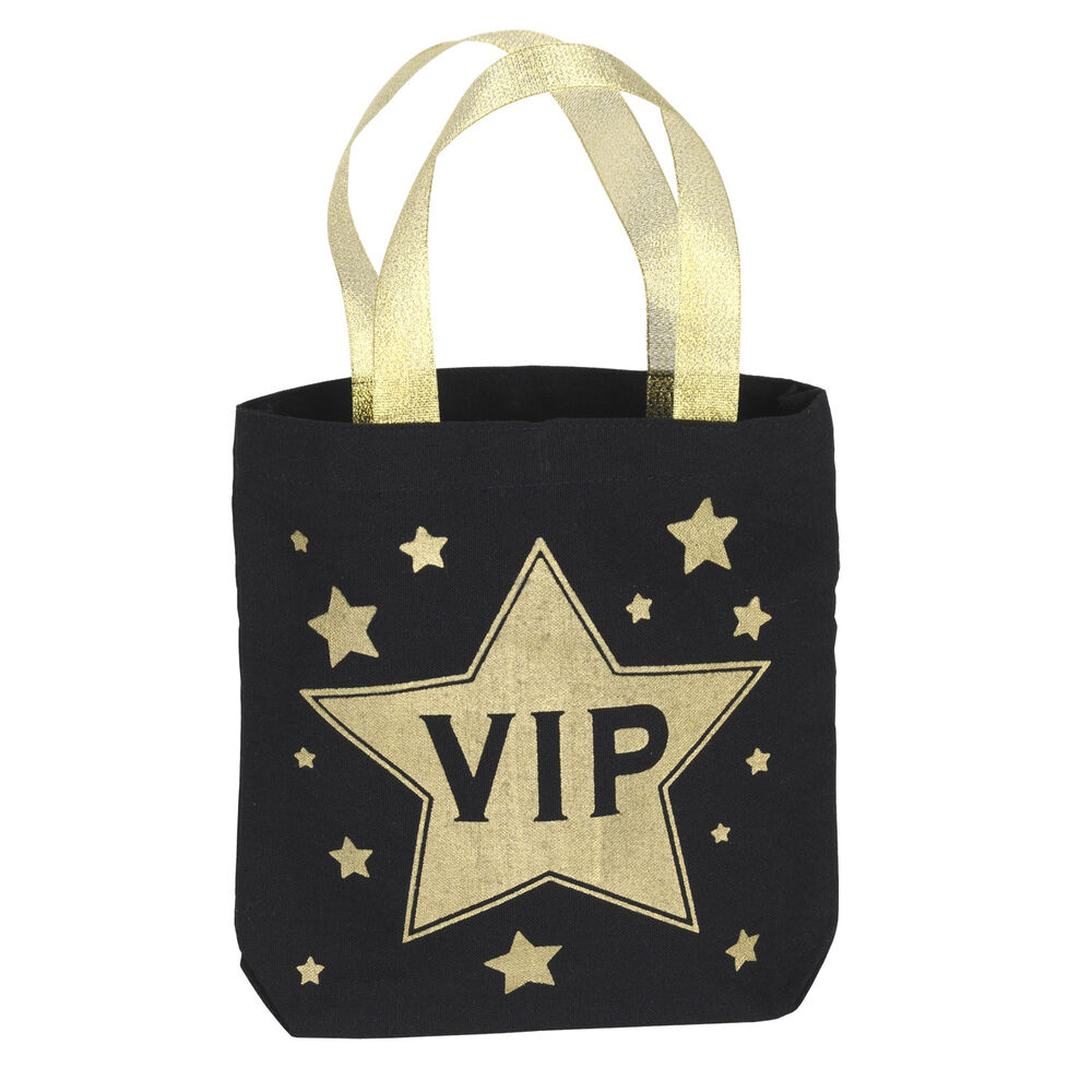 Movie night hollywood awards party favor fabric vip swag