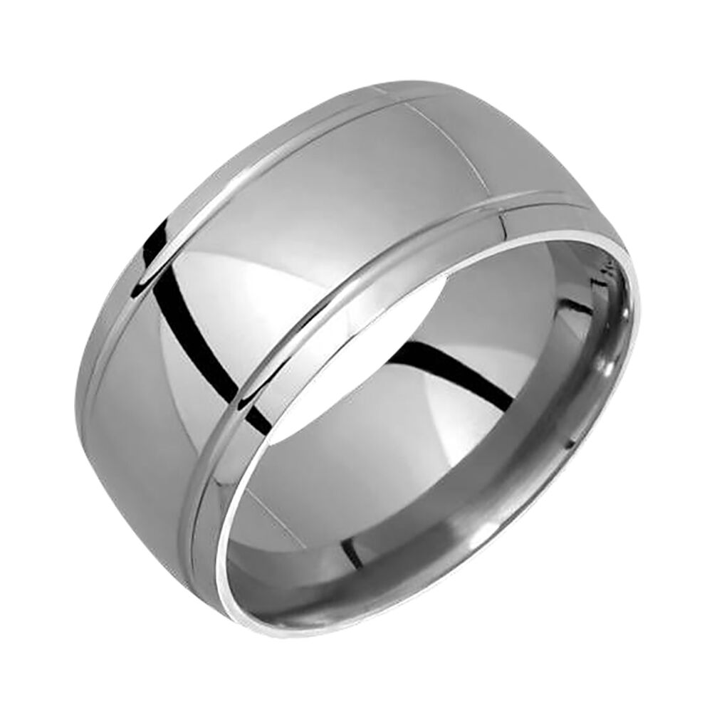 handmade mens rings new stylish mens titanium ring wedding band for engagement 6674