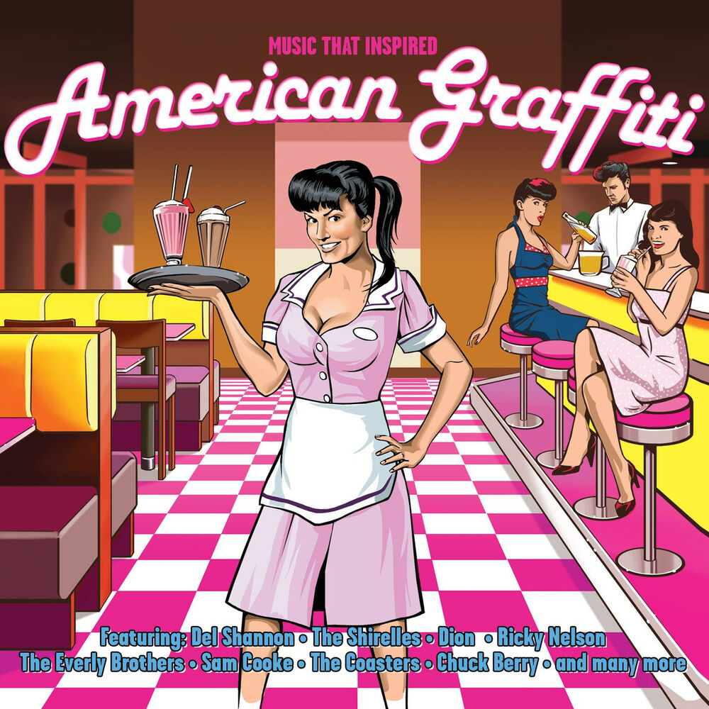 Details about music that inspired american graffiti best of 75 songs music collection new 3 cd