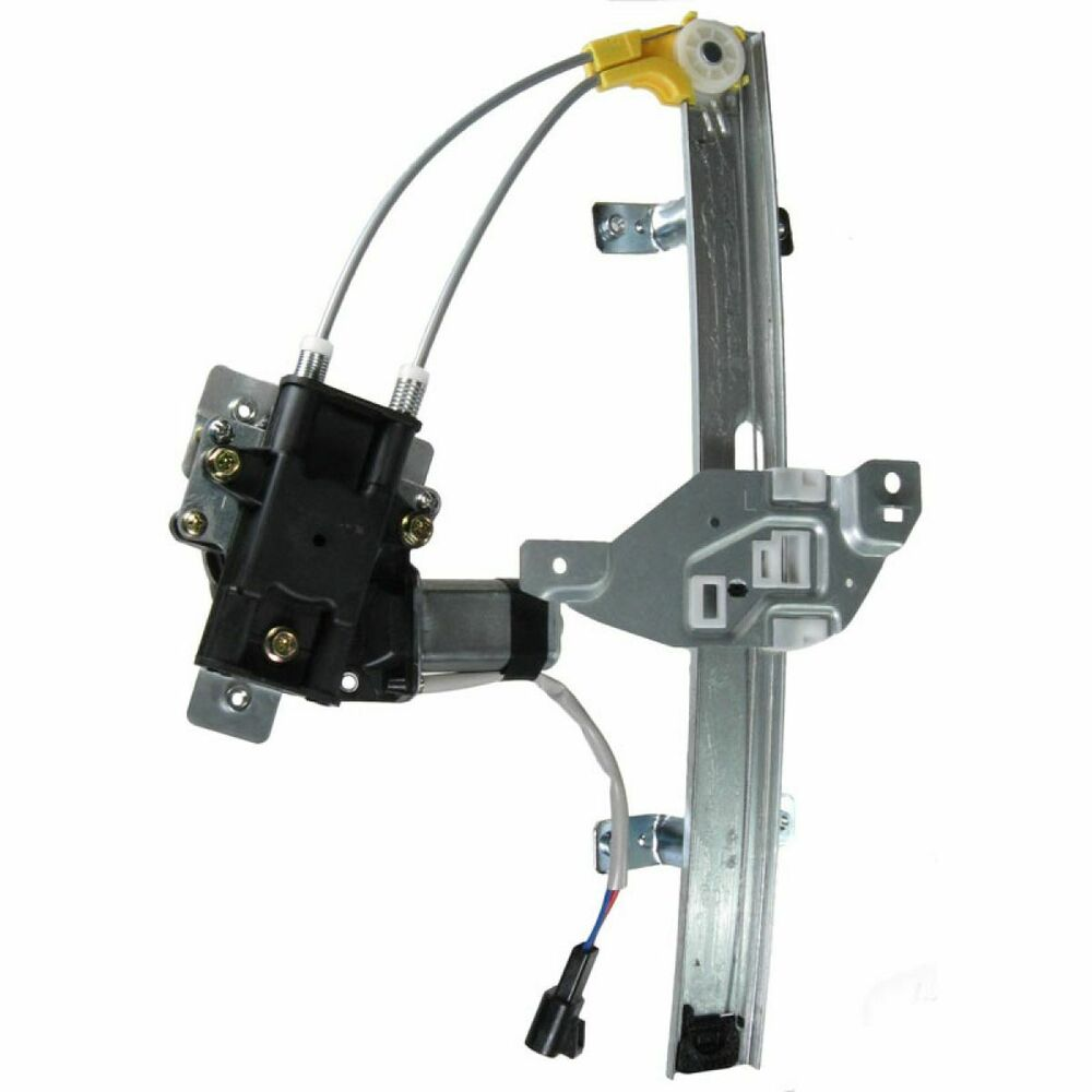 Power window regulator w motor rear lh left driver for 97 Window motor and regulator cost
