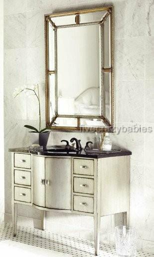 Extra Large 49 Quot Horchow Vanity Mirror Framed Wall Mirror