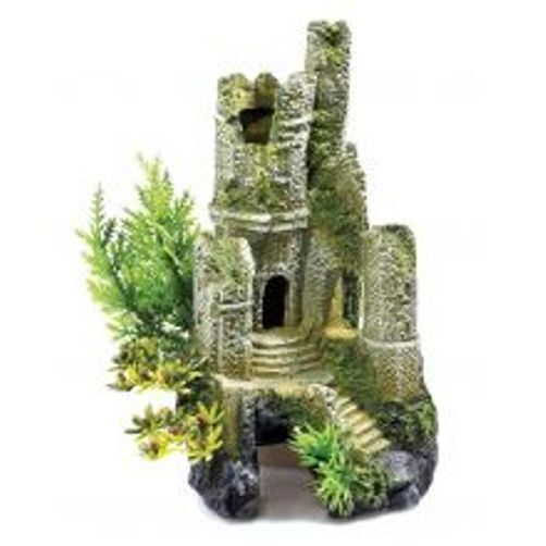 Classic aquarium fish tank castle ruin ornament 0930 for Decoration aquarium 60 litres