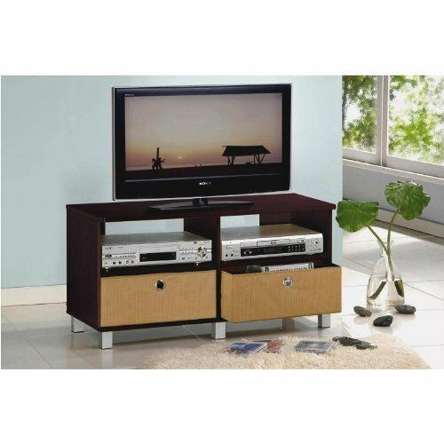 Center entertainment tv stand media console storage for Tv console with storage