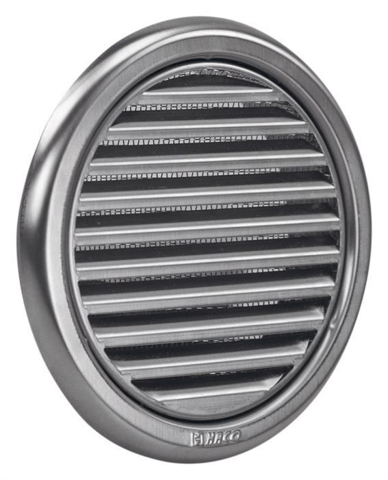circular stainless steel air vent grille covers high quality ventilation grilles ebay. Black Bedroom Furniture Sets. Home Design Ideas