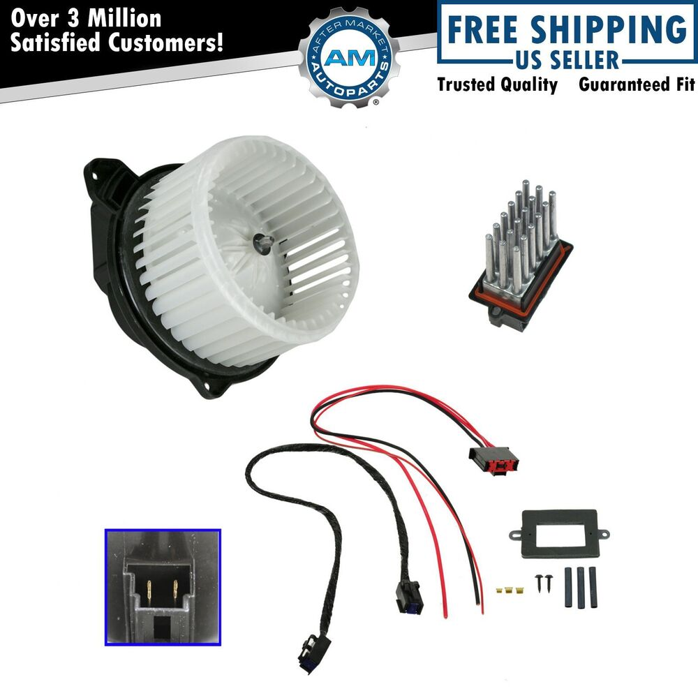 blower motor and resistor upgraded atc kit set for 02 04