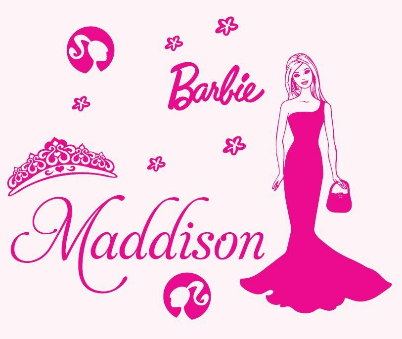 barbie stickers for walls - photo #31