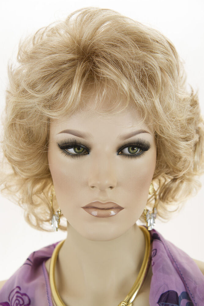 Champagne Blonde Your Light Brown: Butterscotch And Champagne Blonde Medium Monofilament Jon