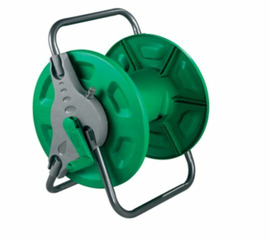 Portable Wall Mounted Hose Reel Free Standing Garden Water Pipe Rust Proof Mount Ebay