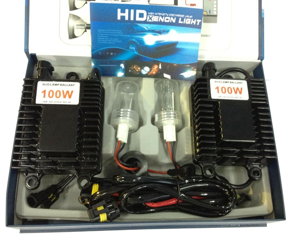 ac 100w 12v xenon hid conversion kit h1 h3 h4 h7 h8 h9 h10. Black Bedroom Furniture Sets. Home Design Ideas