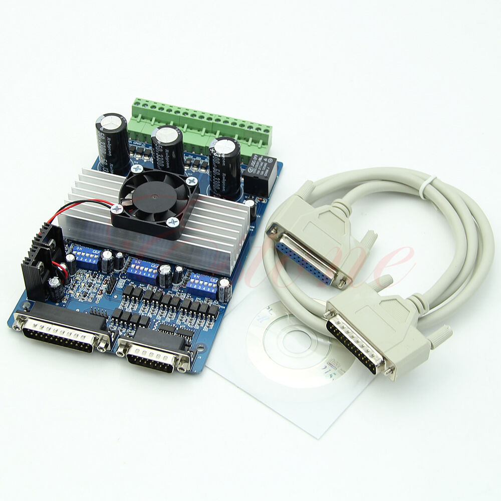 Tb6560 3 axis cnc 3 5a stepper motor driver controller for Cnc stepper motor controller