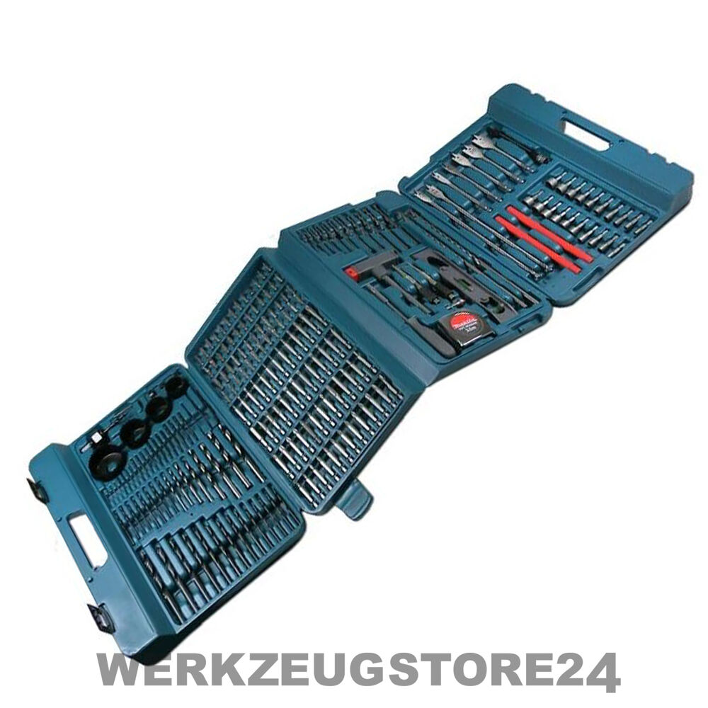 makita p 44046 bohrer bit set 216 tlg bohrersatz bitsatz f r akkuschrauber ebay. Black Bedroom Furniture Sets. Home Design Ideas