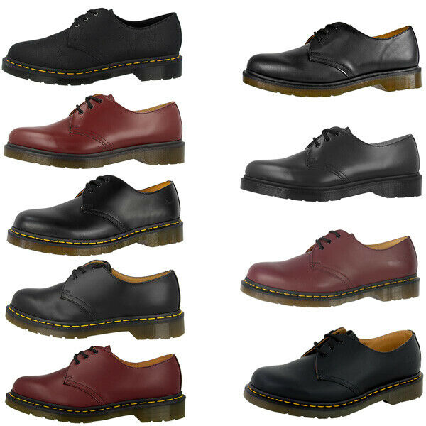 dr doc martens 1461 3 loch leder schuhe boots diverse. Black Bedroom Furniture Sets. Home Design Ideas