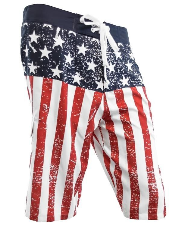 Men's American flag shorts for American Americans. These USA reppin' shorts were George Washington's favorites. That's a cold hard fact, brother.5/5(26).