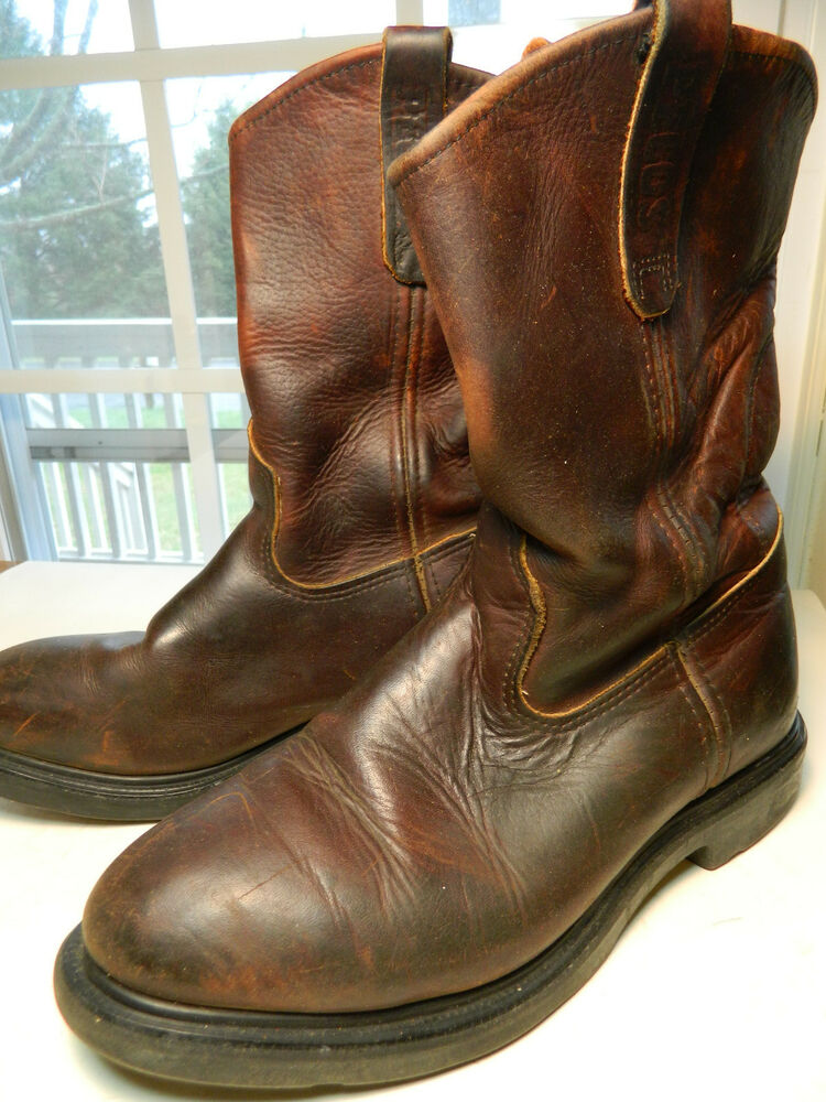1990 s wing pecos boots us s size 8 1 2 ee
