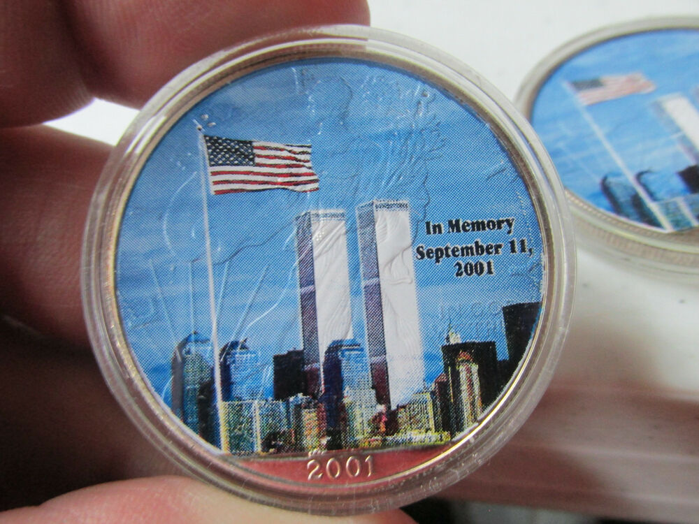 2001 American Silver Eagle Twin Towers Tribute Quot God Bless