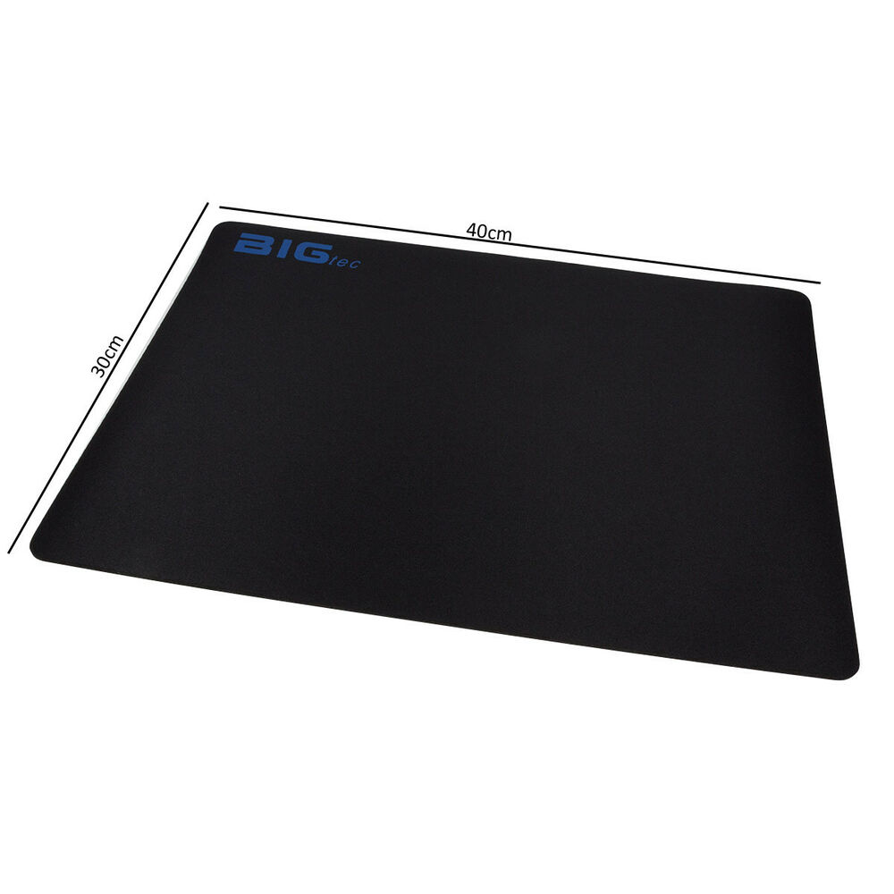 bigtec xxl mauspad gamermauspad gaming mousepad schaumstoff 40x30cm 3mm gamer ebay. Black Bedroom Furniture Sets. Home Design Ideas