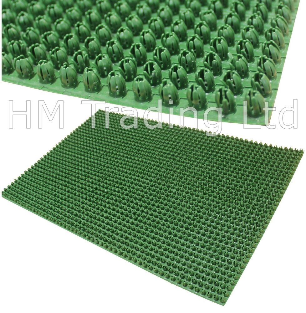 Outdoor Door Mat Plastic Astro Artificial Grass Turf Look
