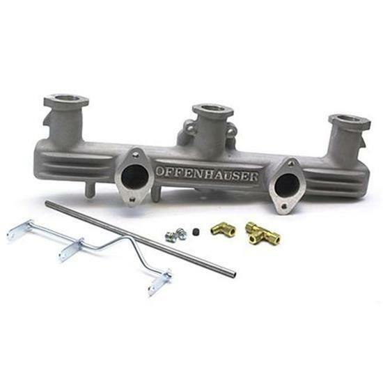 New Offenhauser 1936-1952 Chevy 216-235 6-Cylinder Dual