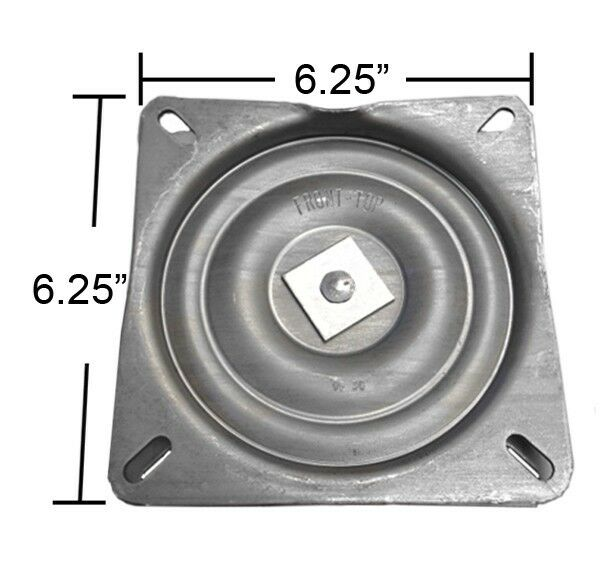Bar Stool Swivel Plate W 3 Degree Pitch Angle 6 25