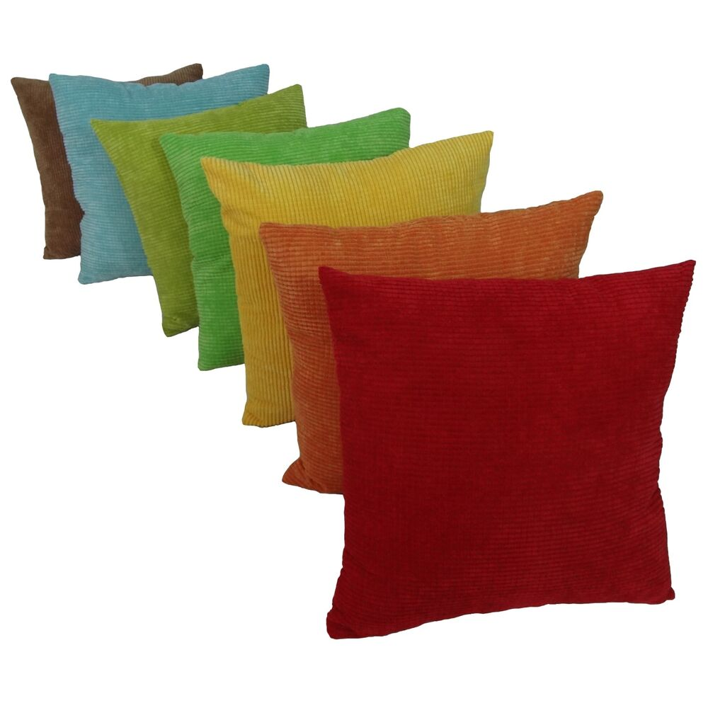 Solid Decorative Throw Pillows : New Solid Color Corn Kernel Decorative Throw Pillow Case Cushion Cover eBay