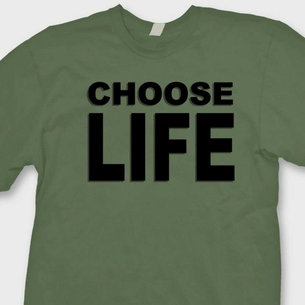 Choose life shirt wham meaning