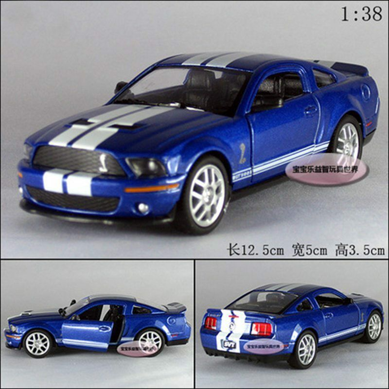 Kinsmart 1:38 1/38 2007 MUSTANG Ford Shelby GT500 Sports