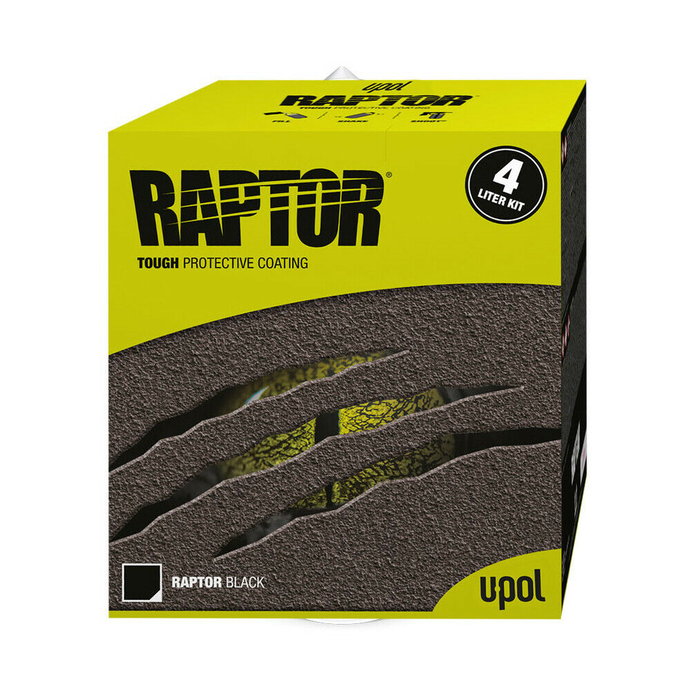 U Pol Raptor Bed Liner Kit Black Color Bedliner Kit Upol
